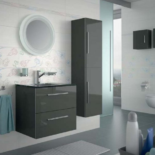 Meuble Creta anthracite